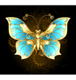 Mechanical Butterfly vector image