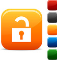 Padlock icons vector image