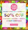 easter egg sale banner background template 13 vector image