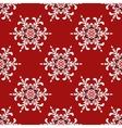 Christmas Snowflake pattern vector image
