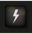 Lightning bolt icon vector image vector image