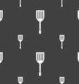 Kitchen appliances icon sign Seamless pattern on a vector image