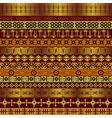 African ethnic motifs vector image
