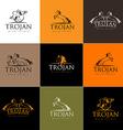 Horse Logo Horse Icon Badge Emblem vector image