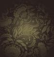 floral design dark77 vector image