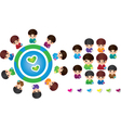 International Children vector image