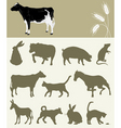 animal of a farm vector image