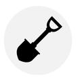 Shovel icon vector image