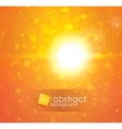 sun light vector image