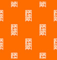 bookcase pattern seamless vector image