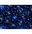 starbright sky vector image vector image