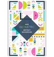 Modern background line art Abstract geometric vector image