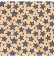Vintage star seamless vector image