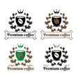 coffee premium logo sign vector image