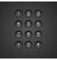 Keypad Background vector image