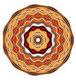 ethnic circle background design australian vector image