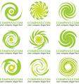 Abstract Logos vector image