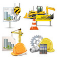 Design and Construction vector image vector image