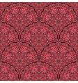 Red Geometric Pattern Vintage vector image