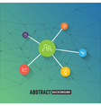 abstract green business and corporate background vector image