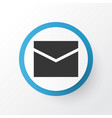 mail icon symbol premium quality isolated letter vector image
