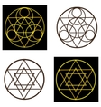occult symbols vector image