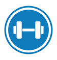 weights logo vector image vector image