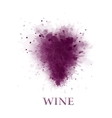 abstract wine grape vector image