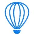 Aerostat Grainy Texture Icon vector image