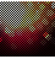 Dark Mosaic Background With Sphere vector image