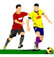 al 0310 soccer 02 vector image vector image