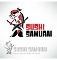 Sushi logo design vector image