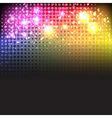 Bright Neon Lights Background vector image