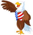 Patriotic American Eagle vector image