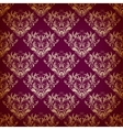 seamless pattern in Victorian style vector image