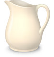 Ceramic Pitcher Isolated vector image