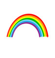 rainbow sign vector image