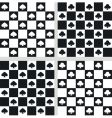 seamless checkered textures vector image