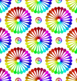 Abstract pattern metaball vector image