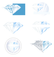 Diamond Collection vector image
