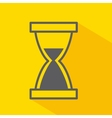 hourglass isolated icon design vector image
