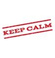 Keep Calm Watermark Stamp vector image