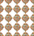 seamless pattern shape with circles vector image