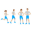 prosthesis for legs flat icons vector image