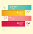 Modern soft color Design template vector image