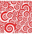 Abstract background with swirl elements vector image
