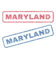 maryland textile stamps vector image