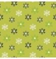 Floral scribble pattern vector image