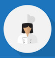 of job symbol on cook flat vector image
