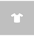 Shirt computer symbol vector image